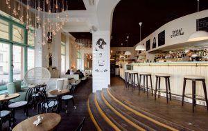 Дизайн ресторана Счастье на Малой Морской 24