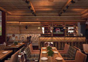 Дизайн ресторана Сandles Bar